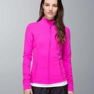 Lululemon Define Jacket.  Hot Pink.  Size 4.
